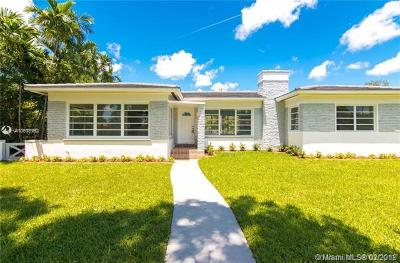Miami Shores Single Family Home For Sale: 833 NE 96th St