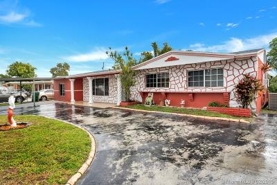 Miami Gardens Single Family Home For Sale: 16921 NW 47th Ave