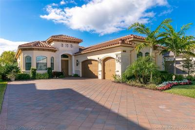 Delray Beach Single Family Home For Sale: 9850 Vitrail Lane