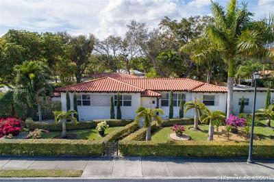 Miami Shores Single Family Home For Sale: 9500 NE 6th Ave