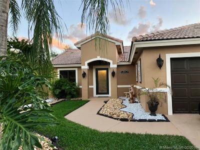 Pembroke Pines Single Family Home Active With Contract: 16286 SW 7th St