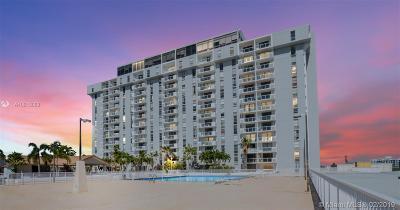 North Miami Beach Condo For Sale: 13499 Biscayne Blvd #604