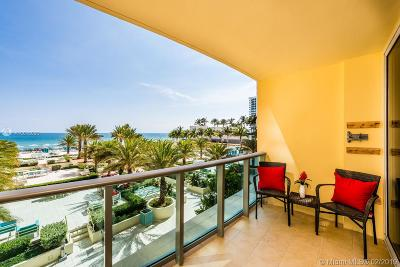 Hollywood Condo For Sale: 2501 S Ocean Dr #320