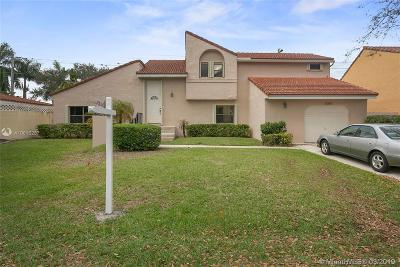 Cooper City Single Family Home Active With Contract: 12265 Garden Dr