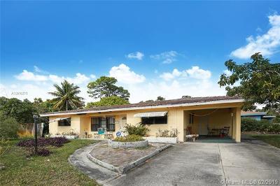 Fort Lauderdale Single Family Home For Sale: 651 E Evanston Cir