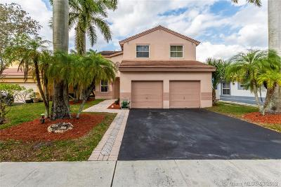 Pembroke Pines Single Family Home Active With Contract: 19267 NW 22nd