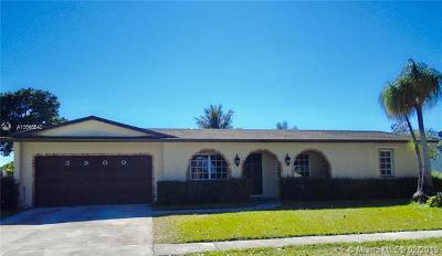 Coconut Creek Single Family Home For Sale: 3900 NW 4th Ct