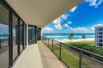 Palm Beach Condo For Sale: 3100 S Ocean Blvd #505S