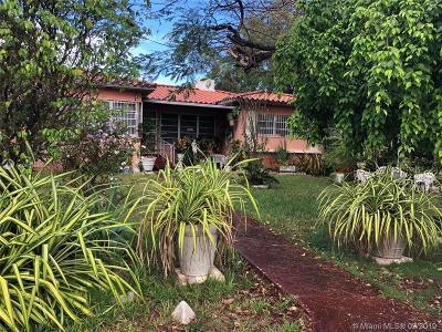Miami Single Family Home For Sale: 421 NE 52 Te
