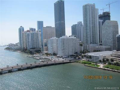 Condo For Sale: 701 Brickell Key Blvd #1812