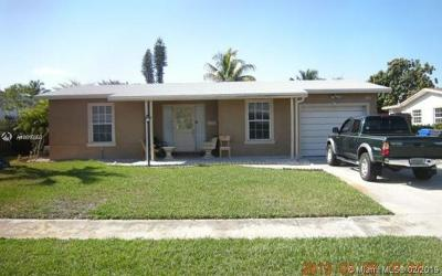 North Lauderdale Single Family Home For Sale: 6800 SW 10th Ct