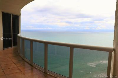 Ocean Four, Ocean Four Condo, Ocean Four Condo + Den, Ocean Four + Den, Ocean Four Condominium Rental For Rent: 17201 Collins Ave #3703