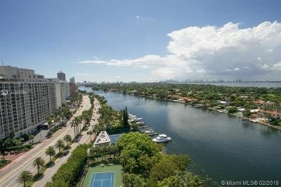 Miami Beach Condo For Sale: 5500 Collins Ave #802