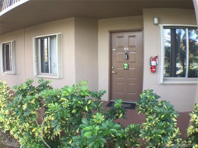 Pembroke Pines Condo For Sale: 12750 SW 15th St #109D