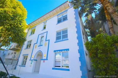 Miami Beach Condo For Sale: 1611 Meridian Avenue #305