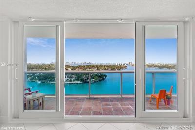 Miami Beach Condo For Sale: 6770 Indian Creek Dr #14J