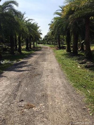 Broward County Residential Lots & Land For Sale: 17550 SW 70th Pl