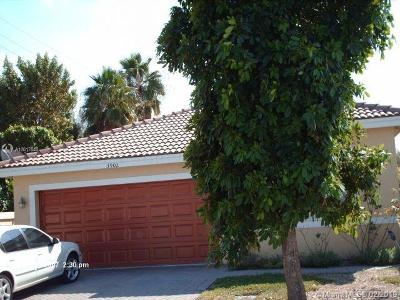 Coconut Creek Single Family Home For Sale: 3902 Crescent Creek Pl