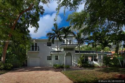 Coral Gables Single Family Home For Sale: 1429 Alegriano