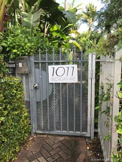 Miami Beach Condo For Sale: 1011 Michigan #4