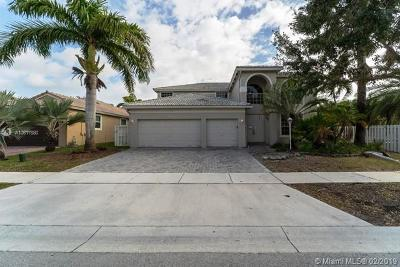 Pembroke Pines Single Family Home Sold: 1003 NW 139th Ter