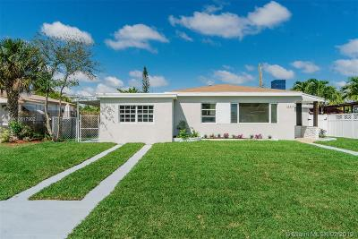 North Miami Beach Single Family Home Active With Contract: 1857 NE 175th St
