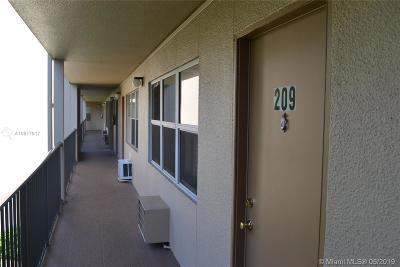 Pembroke Pines Condo For Sale: 13350 SW 1st St #209P