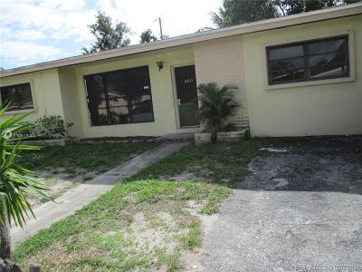 North Miami Beach Single Family Home For Sale: 460 NE 180th Dr