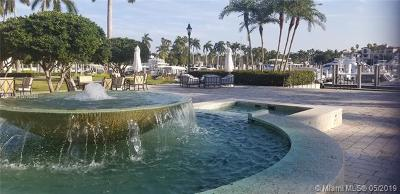 Miami Beach Residential Lots & Land For Sale: 1 Fisher Island Dr Slip 31