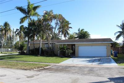 Sunrise Single Family Home Active With Contract: 7000 NW 21st St