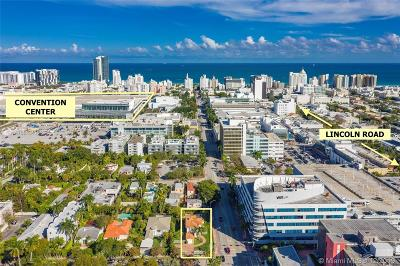 Miami Beach Residential Lots & Land For Sale: 1701 Michigan Ave