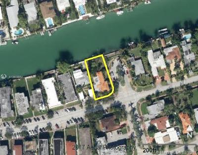 Miami Beach Residential Lots & Land For Sale: 7300 Trouville Esplanade