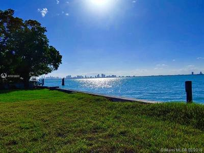 Miami Beach Residential Lots & Land For Sale: 5840 N Bay Rd