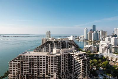 Miami Rental For Rent: 848 Brickell Key Dr #2803