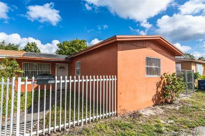 Miami Gardens Single Family Home For Sale: 19141 NW 34th Ct