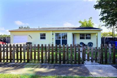 Hollywood Single Family Home For Sale: 6890 Greene St