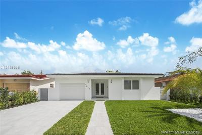 Coral Gables Single Family Home Active With Contract: 1937 Red Road