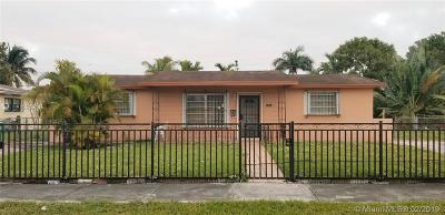 Miami Single Family Home For Sale: 12021 NW 22nd Pl