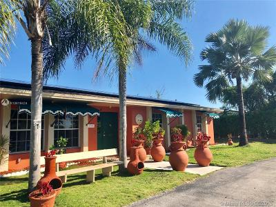 Miami-Dade County Single Family Home For Sale: 17995 SW 296th St