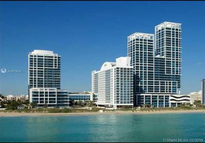 Miami Beach Condo For Sale: 6899 Collins Ave #908