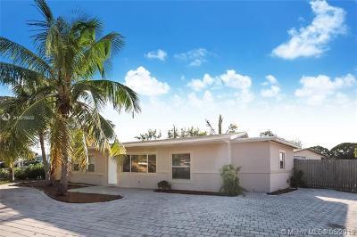 Pompano Beach Single Family Home For Sale: 2651 NE 8th Ave