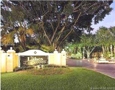 Plantation Condo For Sale: 10749 Cleary Blvd #110