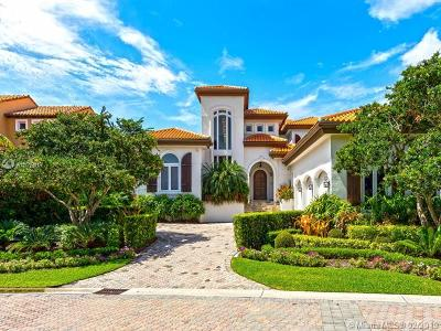 Coral Gables Single Family Home For Sale: 13664 Deering Bay Drive