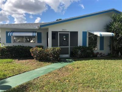 Plantation Condo For Sale: 1021 NW 85th Ave #A-2