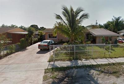 Miami Gardens Single Family Home For Sale: 17300 NW 48th Pl