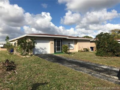 Deerfield Beach Single Family Home For Sale: 1281 NW 48 St