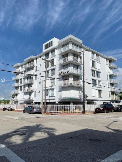 Miami Beach Condo For Sale: 7800 Carlyle Ave #2F