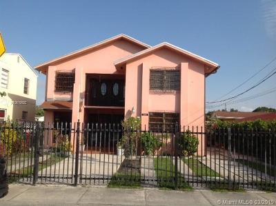 Miami Multi Family Home For Sale: 3501 SW 15th St