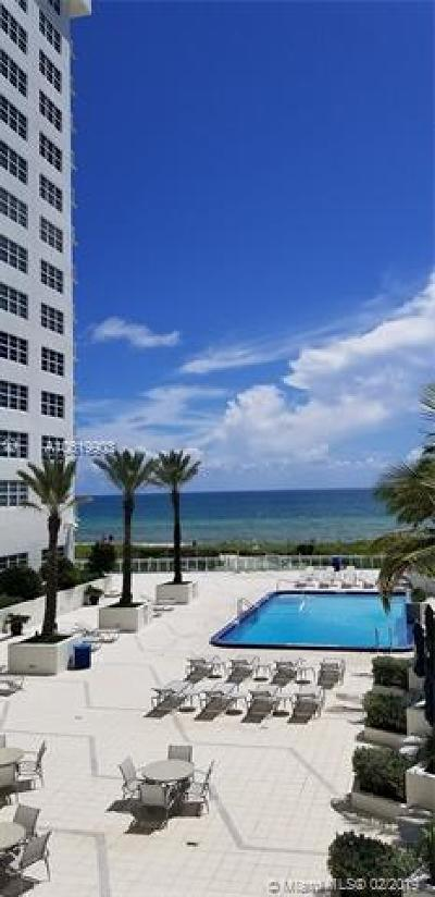 Miami Beach Condo For Sale: 6917 Collins Ave #424