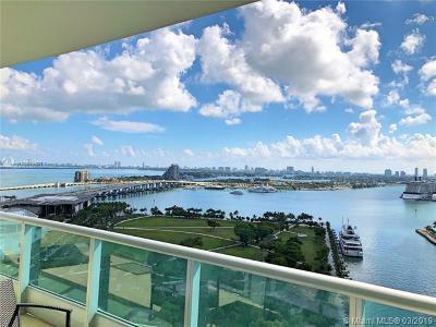900 Biscayne, 900 Biscayne Bay, 900 Biscayne Bay Condo Rental For Rent: 900 Biscayne Blvd #2403